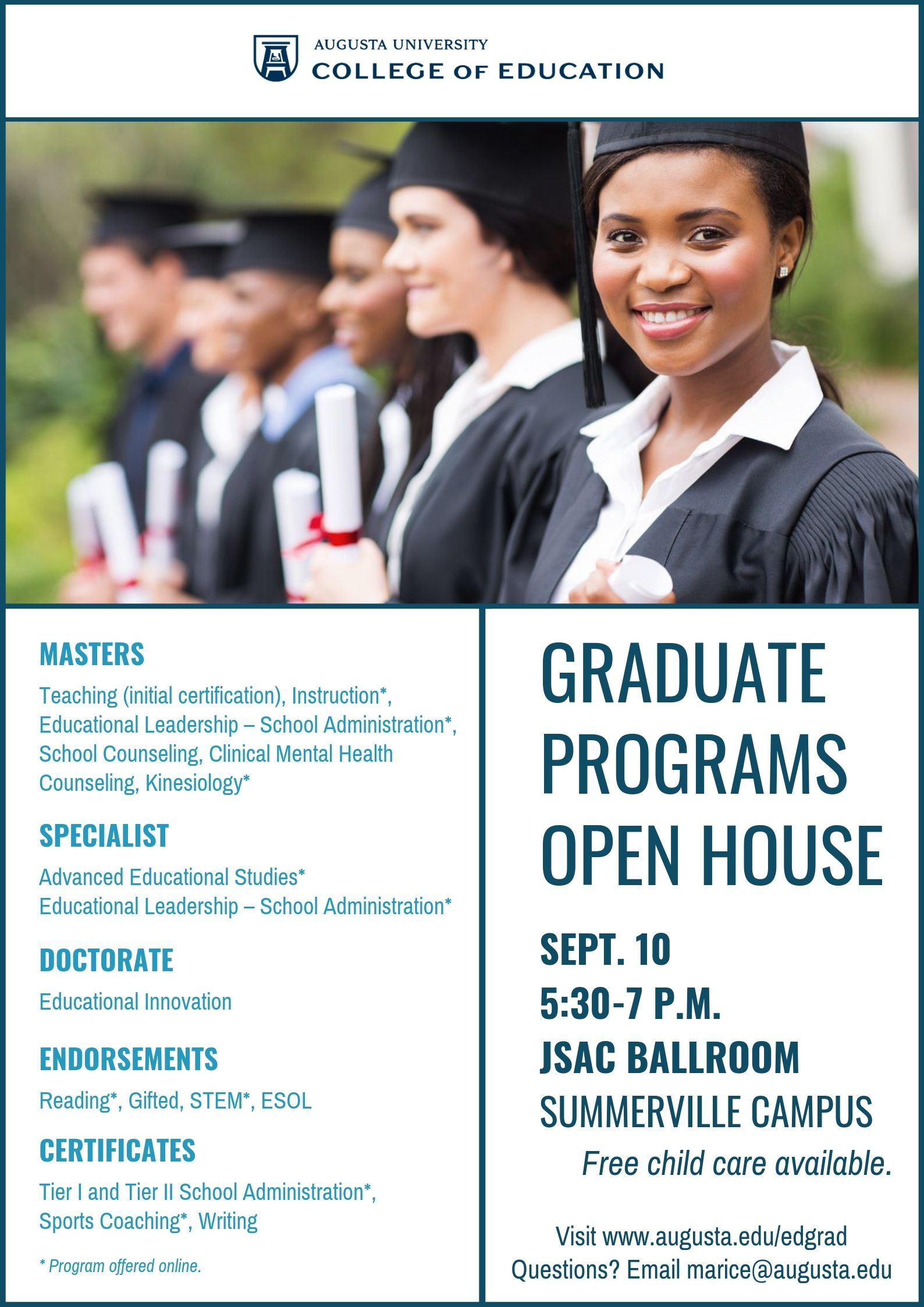 photo relating to Welcome to Our Open House Printable named Celebration Calendar - Graduate Strategies Open up Residence